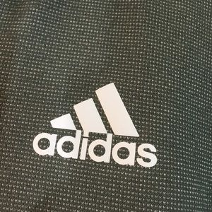 adidas Shirts - Men's Adidas Climawarm Dark Gray Zip Up Hoodie
